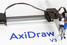 DRAWING ROBOTS / AXIDRAR, ELEKSDRAW AND OTHER DRAWING MACHINES