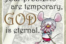 God's mice words
