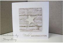 Allerlei Weihnachten / Die schönsten Schriftzüge für wunderschöne Weihnachtskarten findet Ihr in unserem Stempelset Allerlei Weihnachten