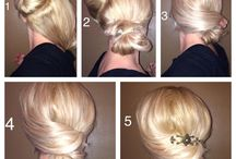 Easy & Quick elegant hairstyles