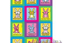 Happy Bunny Birthday Party Ideas, Decorations, and Supplies
