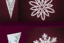 Talviaskartelu / Joulun ajan ja syksynajan askarteluja