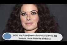 Actriz que trabajó con Alfonso Arau revela las oscuros intenciones del cineasta