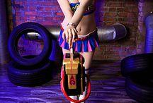 Lollipop Chainsaw cosplay Juliet Starling / Lollipop Chainsaw cosplay Juliet Starling