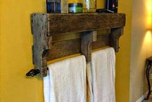 Porta toalha banho