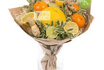 Букет из фруктов, овощей