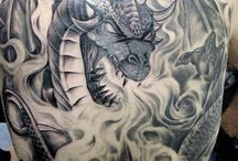 Dragons / A collection of some of the best dragon tattoos from www.tattoos.net / by Tattoos