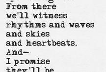 Bücher Ausschnitte, Poesie u. änliches ♥