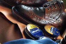 produits pour le cuir / La cordonnerie
