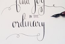 INSPIRATION  / Mainly quotes