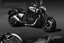 New interpretation of Yamaha V-max by Carlex Design