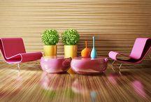 Hayatınıza Renk Katacak Ev Tasarımları