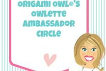 Origami Owl {Owlette Ambassador Circle} / by Origami Owl - Amy Johnson, Independent Designer #29133