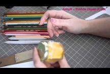 Medium:Colored Pencils / Handmade Cards featuring colored pencils as an art medium
