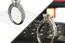Lancaster's 3D Design Studio - Warren Jewellers / From on-screen to on-hand, check out these awesome design transformations from our very own Design Studio! Express your or her individuality by creating a custom ring with us today! www.warrenjewellers.com/designstudio