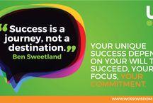 Motivational Career Development Quotes / Get motivated with your career development and job search.