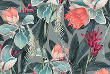 FLORAL & OTHER PRINTS / prints ideas - wallpapers, textiles, ilustrations