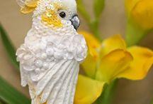 csinált madarak