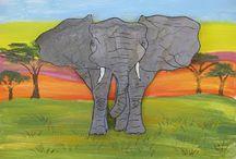 Elefanter maleri