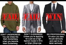 What NOT to wear-Men / by UTSA CSPD (Center for Student Professional Development)
