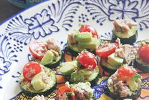 Snacks / Healthy snack ideas, especially for those who are on-the-go.