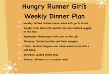 Meal Plans / by The Hungry Runner Girl