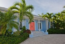 Kailypso - Cayman Villas / This very popular three bedroom beachfront home in Cayman Kai comfortably sleeps 8 people and its large freshwater swimming pool is ideal for families with children and perfect for family fun in the sun!