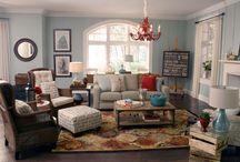 Family Room / by Nicki Woo - The Home Guru / Nicole T. Woodard