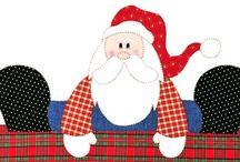 Moldes Papai Noel