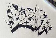 Graffiti ideën