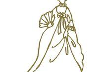kobieta moda ubiór sylwetka XVIII -XIX - XX