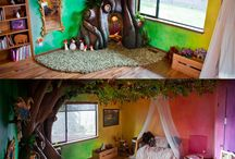Kylie's new bedroom / Rainbow bedroom decor