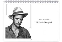 Actors / High quality celebrity photo calendars