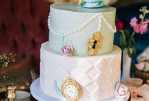 tea party birthday cake