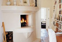 Kitchens with Fireplaces
