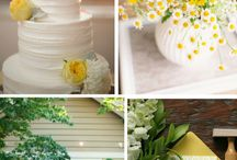 PANTONE Spring 2016 Buttercup Wedding Details