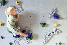 Home Climbing Walls / Home climbing walls are great for children and adults alike!