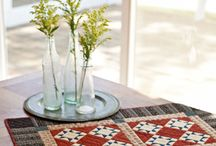 Quilted Table Toppers and Runners