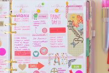 Planner Addict / Inspiration and other posts about planning, specifically in my vertical Erin Condren planner.
