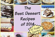 Top Recipes of 2014 / 2014 was a great year for desserts! Below are all of the best dump cake recipes, peach cobbler recipes, easy cookie recipes, mug cake recipes, and more! / by The Best Dessert Recipes