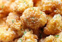 Parmesan cauliflower florets / Veges