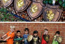 Medieval/Knight Boys Party Theme