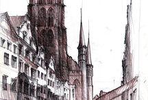 Rysunki / Moje rysunki architektury i nie tylko.
