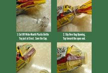 Tips and cool recycling / by Nicole Marie