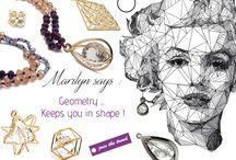 Geometry...Keeps you in shape ! / Γνώρισε τη νέα μας συλλογή από τρισδιάστατα μεταλλικά στοιχεία με κρύσταλλο, σε gold και black nickel αποχρώσεις. Χρησιμοποίησέ τα για total shiny κρεμαστά και σκουλαρίκια. Δες εδώ... https://goo.gl/5I5758