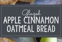 Oatmeal cinnamon apple bread