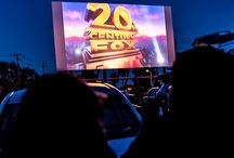 Drive-In Movie / Outdoor movies in your car