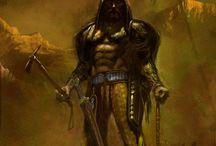 Scythians - modern artworks