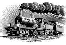 Старые поезда