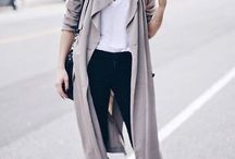 FALL/WINTER STYLE / Fall fashion, winter fashion, fall style, winter style, fall outfit ideas, winter outfit ideas, trench coats, warm outfits, jackets, beanies, staying warm outfit, chic winter look